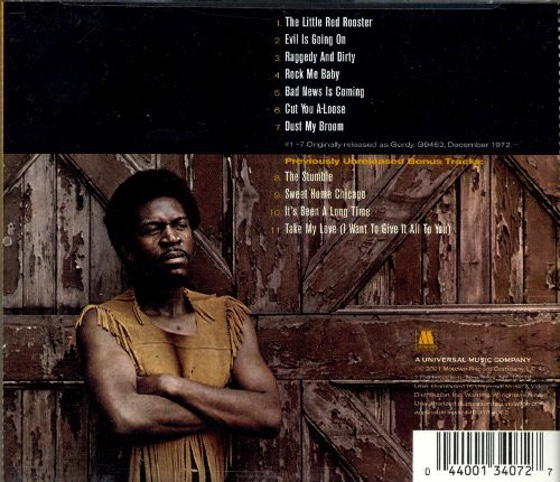Luther Allison-Bad News is Coming-back