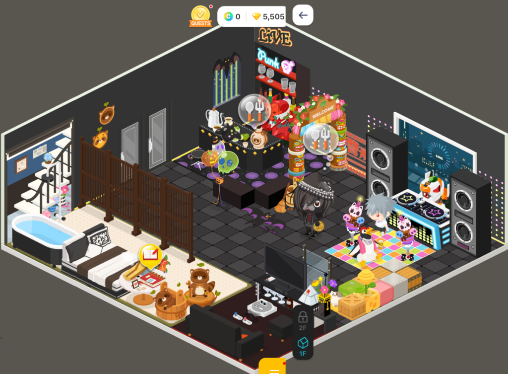 Line Play house